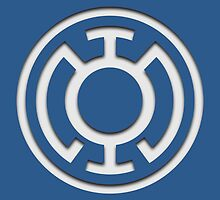 Blue Lantern Insignia (White) by ZetaOfS