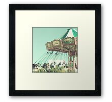 Swing Chairs  Framed Print