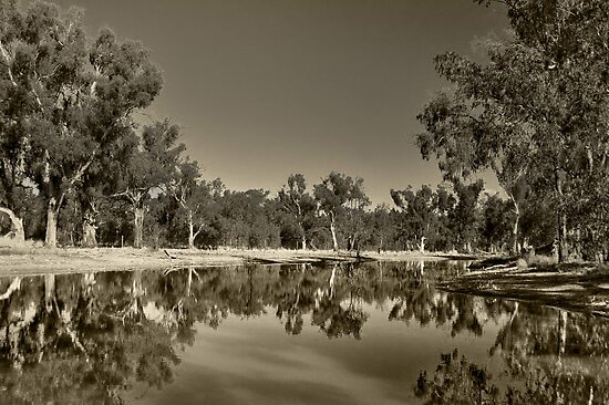Reflections On The Murray by djzontheball