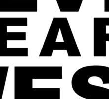 The Devil Wears Westwood Sticker