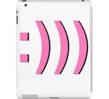 :))) - Annoyed Smiley  iPad Case/Skin
