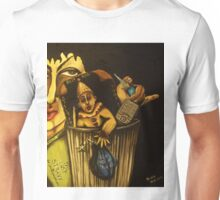 Silly Fool! Your Garbage Stinks! Now Be Gone with Your old Punk-ass bag of tricks! POOF! Unisex T-Shirt