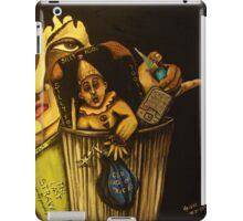 Silly Fool! Your Garbage Stinks! Now Be Gone with Your old Punk-ass bag of tricks! POOF! iPad Case/Skin
