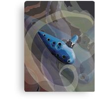 Ocarina Music 2.1 Metal Print