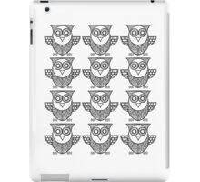 We're Not Pussy Cats We're Just  Black Owls  iPad Case/Skin