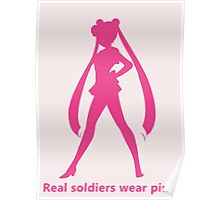 Real Soldiers Wear Pink vs. 2 Poster