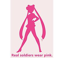 Real Soldiers Wear Pink vs. 2 Photographic Print