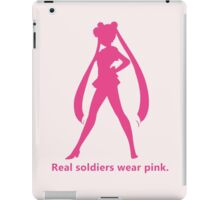 Real Soldiers Wear Pink vs. 2 iPad Case/Skin