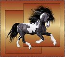 Horse 1 .. calendar by LoneAngel