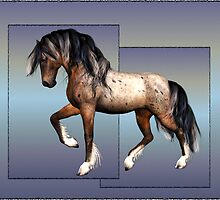 Horse 2 .. calendar by LoneAngel