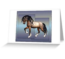 Horse 2 .. calendar Greeting Card