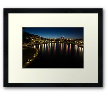 East Perth at Twilight Framed Print