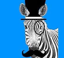 Zebra Gentleman by PirateGiraffe