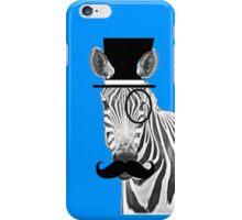 Zebra Gentleman iPhone Case/Skin