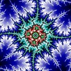 Fractal Blue Mandelbrot 1 by Robert E. Alter / Reflections of Infinity, LLC