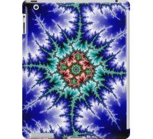 Fractal Blue Mandelbrot 1 iPad Case/Skin