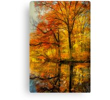 Fall colors of New England Canvas Print