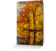 Fall colors of New England Greeting Card