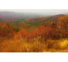 North Georgia Mountains Photographic Print