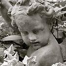 Garden Angel by Joy Fitzhorn