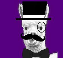 Alpaca Gentleman by PirateGiraffe