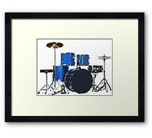 Drum Set 1 Framed Print