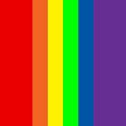 Gay pride flag by Confundo