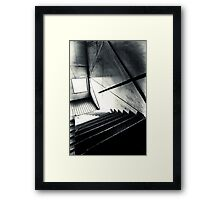 Old Staircase Framed Print