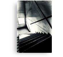 Old Staircase Canvas Print