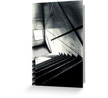 Old Staircase Greeting Card