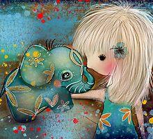 my elephant friend by © Karin  Taylor