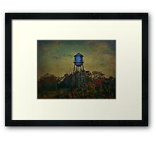 The Old Forgotten Tower Framed Print