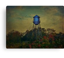 The Old Forgotten Tower Canvas Print