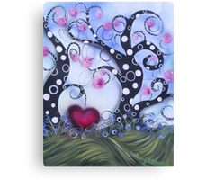 Natures Love Song Canvas Print
