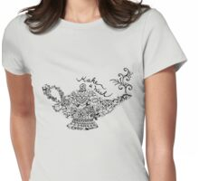 Magic Lantern Mandala Womens Fitted T-Shirt