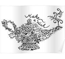 Magic Lantern Mandala Poster