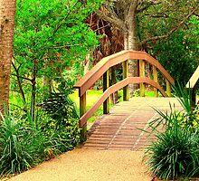 The Footbridge by AuntDot