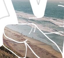 Peace Hand Beach Good Vibes Tumblr Vintage Love Instagram Print Sticker