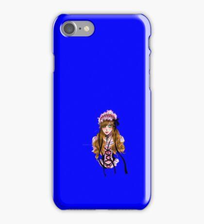 Print - Lolita Fashion Anime Girl iPhone Case/Skin