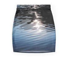 Blue Waves on the Lake Mini Skirt
