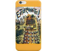 Dalek Dr Who art the Doctor Who BBC davros tardis the doctor david tennant exterminate matt smith british gridlock stolen earth sci fi christmas joe badon iPhone Case/Skin