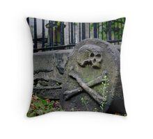 Death's Mark Throw Pillow