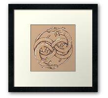 Luck Dragons (II) Framed Print