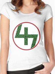 47 Pro Era Scattered Joey Badass Women's Fitted Scoop T-Shirt