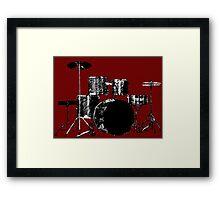 Drum Set 3 Framed Print