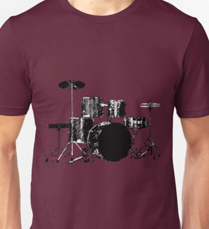 Drum Set 3 Unisex T-Shirt
