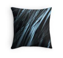 Dark Grass Wall Art Throw Pillow