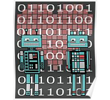 Robots in love Poster