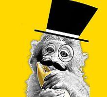 Monkey Gentleman by PirateGiraffe