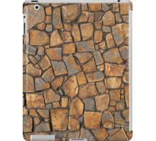 Background of stone wall texture photo iPad Case/Skin